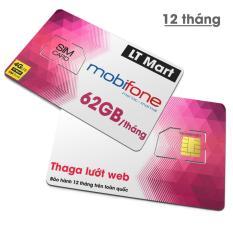 sim 4g mobi gói THAGA 60gb/tháng chỉ 50k/tháng