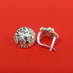 Bông tai bạc sát tai bạc 925 cao cấp BT45 trang sức Bạc QTJ(bạc)