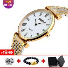 Đồng hồ nam dây thép không gỉ Siêu Mỏng SKMEI SK022 – Boss Watches
