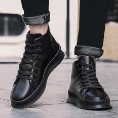giầy cao cổ nam, ful đen