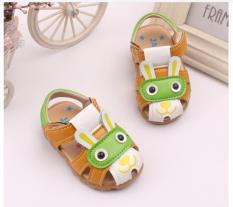 Dép sandal bé trai 0-3 tuổi-xanh lá