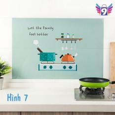 (MỚI) Decal dán tường nhà bếp cách nhiệt không bị ướt có thể lau chùi 9STORE