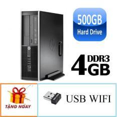 Cây máy tính để bàn HP 6200 Pro Sff Cpu G620,Ram 4gb, HDD 500gb + Tặng usb Wifi – Bảo hành 24 tháng – Hàng Nhập Khẩu