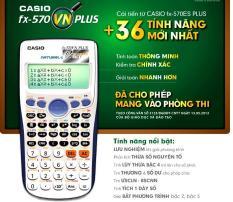Máy Tính Casio FX570VN Plus – Bảo Hành 2 năm
