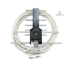 Anten thông minh thu sóng DVB T2 + 15m dây cáp có jack nối
