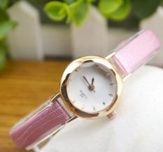 Đồng hồ nữ cao cấp Squart 202 (Dây Hồng, Mặt Trắng)