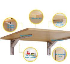 Bàn học trẻ em gấp treo tường nhà chung cư 40x80cm chịu lực 50kg_Ngọc Thịnh