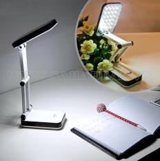 đèn Led Để Bàn Học, Bàn Làm Việc 24 Bóng Pin Sạc