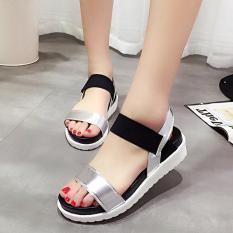 [ VIDEO ] Giày Sandal Nữ Da Pu Mẫu Mới 2018 3Fashion Shop – MSP 2989