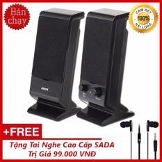 Bộ Loa Máy Tính USB 2.0 SADA V-112 + Tặng Tai Nghe Nhét Tai Cao Cấp