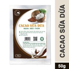 Bột cacao sữa dừa Green D Food – gói 50g