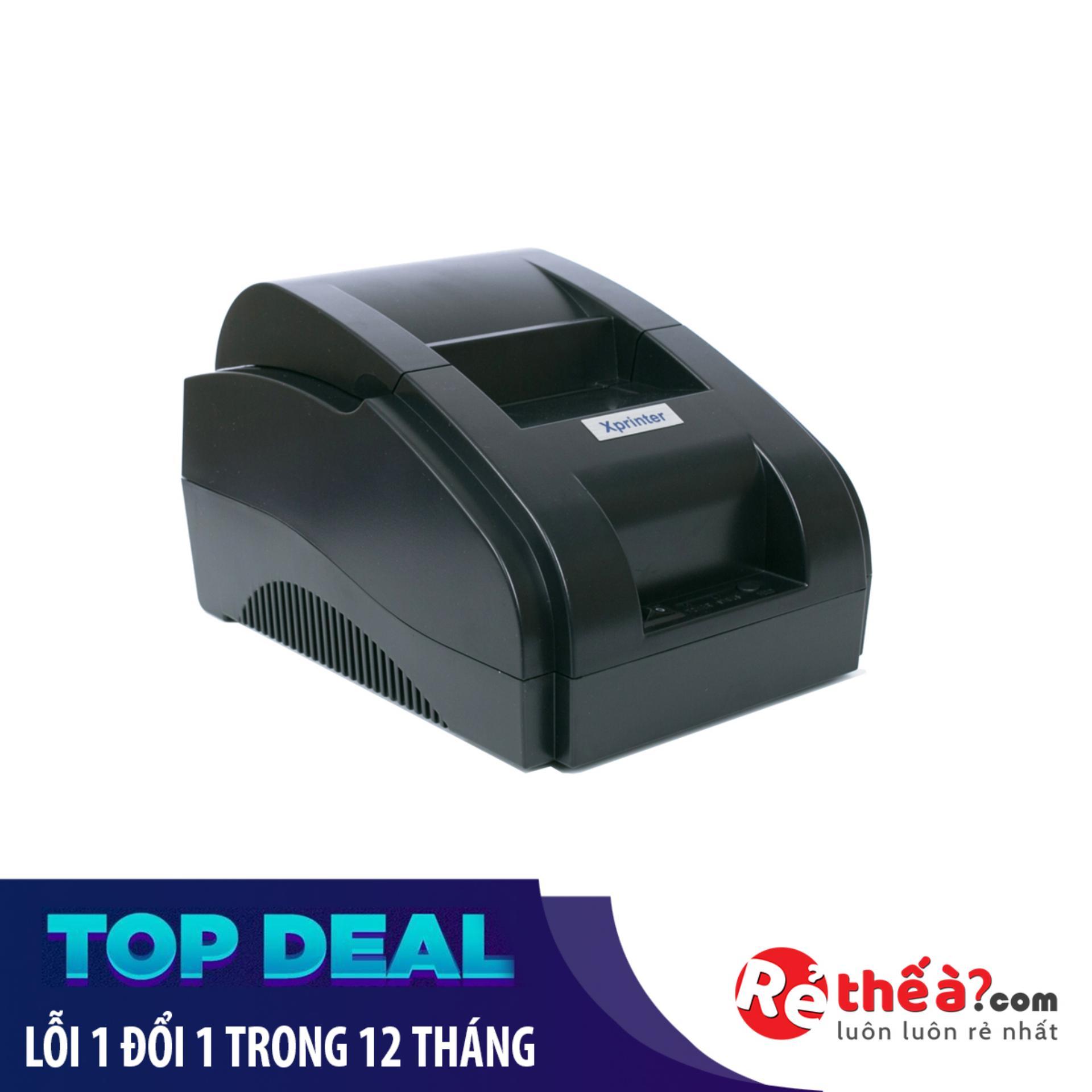 Nên mua Máy in hóa đơn XPRINTER 58IIH- Hàng Nhập Khẩu- Tặng 5 cuộn giấy ở Rẻ thế à