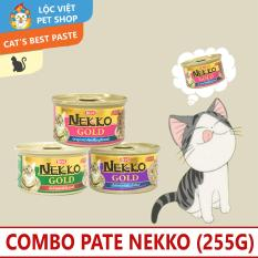 Combo 3 Hộp Pate Nekko (Thái Lan) (85g)
