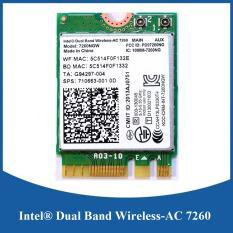 Card wifi Bluetooth INTEL AC 7260 7265 8260 8265 9260 (cho máy tính xách tay)