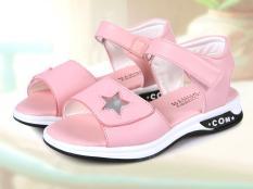 sandal cho bé gái đi học chống trượt HQ-03 phiên bản hàn quốc