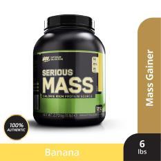 Thực phẩm bổ sung Optimum Nutrition Tăng cân – Serious Mass Banana 6 lbs