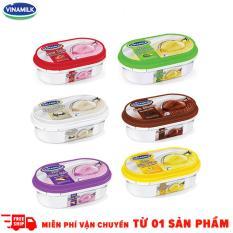 Bộ 6 hôp kem Vinamik 450ml các vị Sầu Riêng – Socola – Khoai Môn – Dừa – Đậu Xanh – Dâu