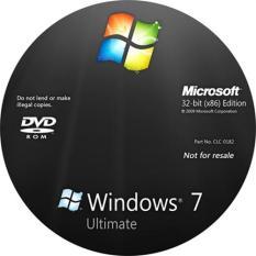Đĩa cài Window 7 ultimate 32bit và 64 bit