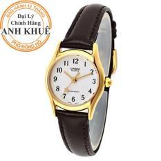 Đồng hồ nữ dây da Casio Anh Khuê LTP-1094Q-7B4RDF