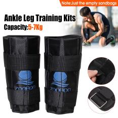 5-7kg Adjustable Ankle Leg Weight Gym Exercise Weighted Walking Training Zooboo – intl