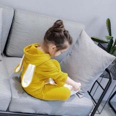 Bộ quần áo thu đông bé gái – Quần áo dài tay trẻ em M323