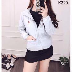 áo khoác nữ chống nắng cách nhiệt hang chất lượng k220