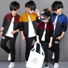 Áo Khoác Trẻ Em Cao Cấp TCFashion QN0055 – Xanh, Tím, Đỏ đô và Vàng