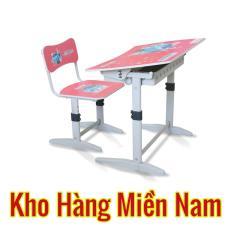 Bàn học trẻ em Xuân Hòa BHS 14-07 KM màu hồng