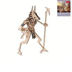 Đồ chơi lắp ráp gỗ 3D Mô hình Vị Thần Anibus