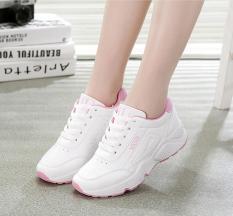 (Xem video thực) Giày thể thao nữ-chữ VAHS-trắng đen, trắng xanh, trắng hồng