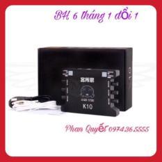 sound card XOX K10, TẶNG KÈM CÁP KẾT NỐI ÂM THANH