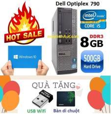 Máy tính đồng bộ Dell Optiplex 790 (Core i5 2400 / 8G / 500G ) – Tặng USB Wifi , Bàn di chuột , Bảo hành 24 tháng