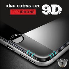 Kính cường lực 9D full màn hình Iphone 6,6S,7,8,x,6p,6Sp,7P,8P,X Đủ mã