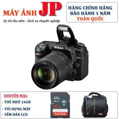 Nikon D7500 kit 18-140mm VR (Hàng chính hãng) – Tặng 16G + túi máy + tấm dán LCD