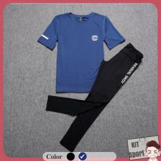 Set bộ đồ quần áo thể thao nữ Skot – Hàng nhập khẩu (đồ tập thể thao, tập gym, thể dục,thể hình, yoga)KIT Sport