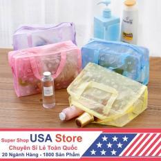 Túi Nhựa Đựng Mỹ Phẩm, Đồ Ướt Du Lịch (Màu Ngẫu Nhiên) KDL1012
