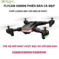 Flycam VISUO XS809S Battle Shark – Bản Nâng Cấp Mới Nhất, Camera FPV 2.0MP, Truyền Trực Tiếp Qua Điện Thoại