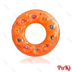 Phao bơi tròn 2 LỚP – size 90 cho người trên 18 tuổi, phao bơi PVC cao cấp, an toàn khi sử dụng – POKI