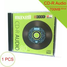 Đánh giá Đĩa trắng CD-R Audio chuyên dụng 700MB/80min 1X-48X Maxell Model-CD-RA80.MAS.H5PMIX(bán 1 chiếc) Tại Tinhteshop