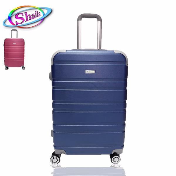 vali kéo nhựa cứng size 20 inch shalla vân đôi (doubled) bảo hành 3 năm.