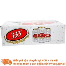 Thùng bia 333 lon 330ml (24 lon)