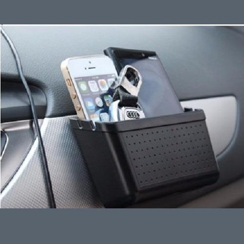 Mua Hộp giữ hai điện thoại trên xe ô tô ( Đen ) Myk – Phúc Lâm Mobile – AF71 Tại Phúc Lâm Mobile