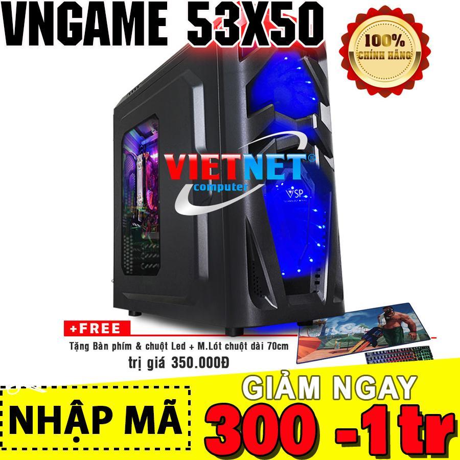 Đánh giá Máy tính chơi game VNgame 53X50 3470 GTX 1050/ 8GB / 500GB (chuyên PUBG, GTA5, LOL, FIFA4, ROS) Tại VietNet Computer
