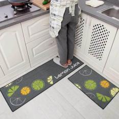 Bộ 02 thảm trải sàn nhà bếp tiện dụng (40 x 60 và 40 x 120 cm)