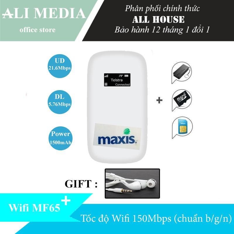 Mua Bộ phát wifi di động từ sim 3G/4G ZTE MF60 – Tặng combo (tai nghe 85k+ siêu sim Viettel 4G) Tại Allhouse VN