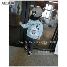 Áo khoác dáng Bomber Mickey cho bé trai