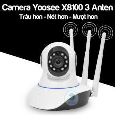 Camera ngày đêm Yoose 3 râu Wifi – 10 đèn hồng ngoại