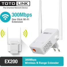 Bộ Mở Rộng Sóng Wifi Chuẩn N Tốc Độ 300Mbps Totolink EX200 (Trắng) – Hãng Phân Phối Chính Thức