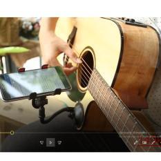 Guitar Capo – Kẹp điện thoại xem hợp âm guitar, Ukulele