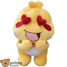Thú nhồi bông QooBee màu vàng, Size 50cm, Shop Gấu Bông Béo Phì, món quà đáng yêu đang làm mưa làm gió trên thị trường (giao mẫu ngẫu nhiên)
